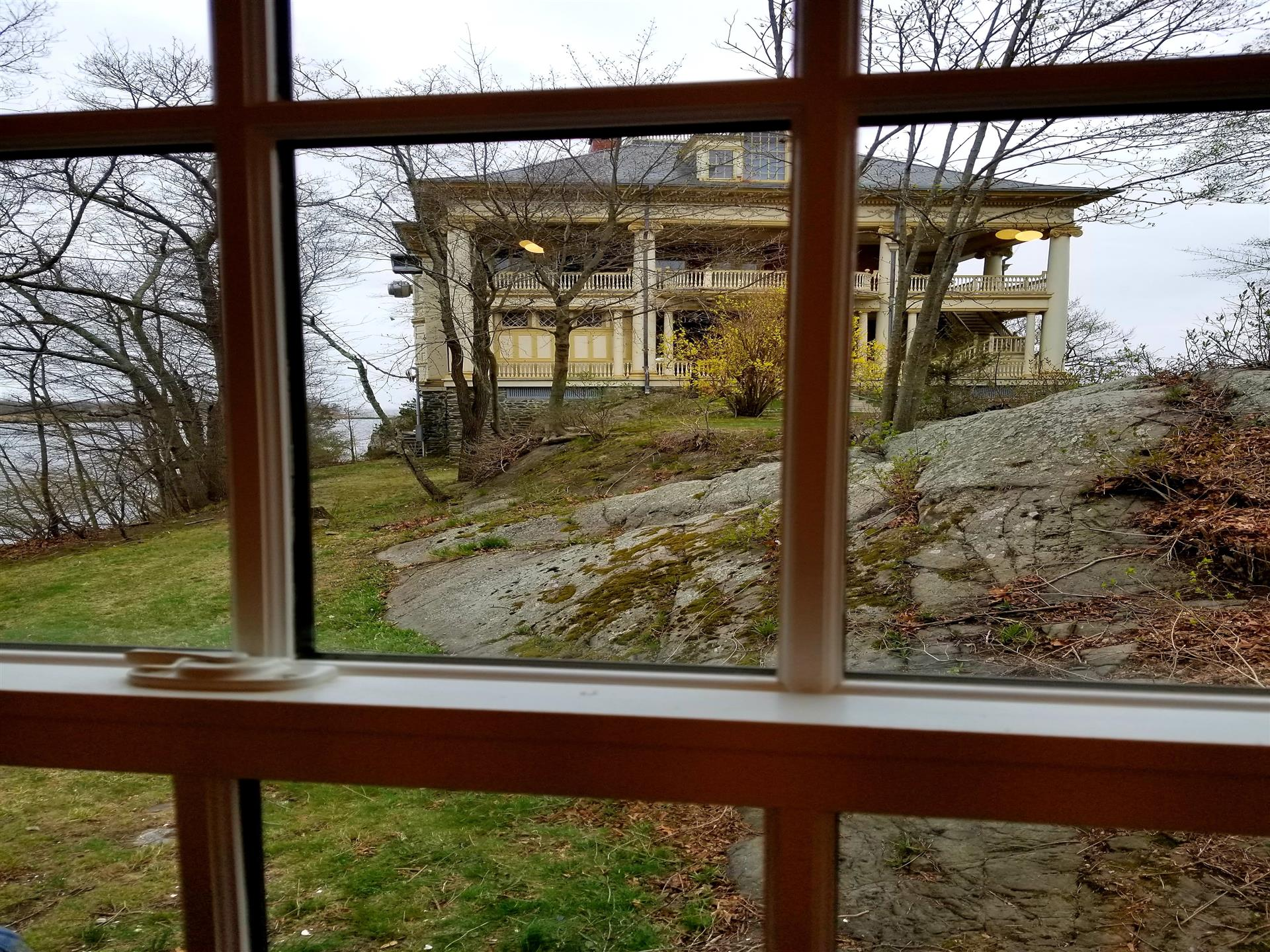 Clubhouse View from Cottage
