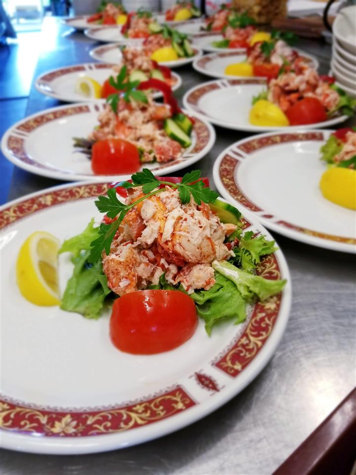 Lobster Salad Plate