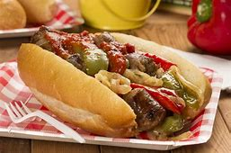 Sausage, onions, and peppers