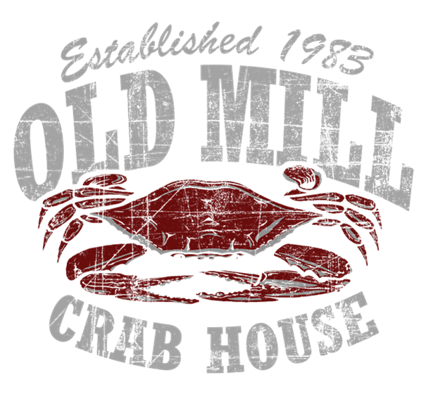 Old Mill Crab House. Established 1983