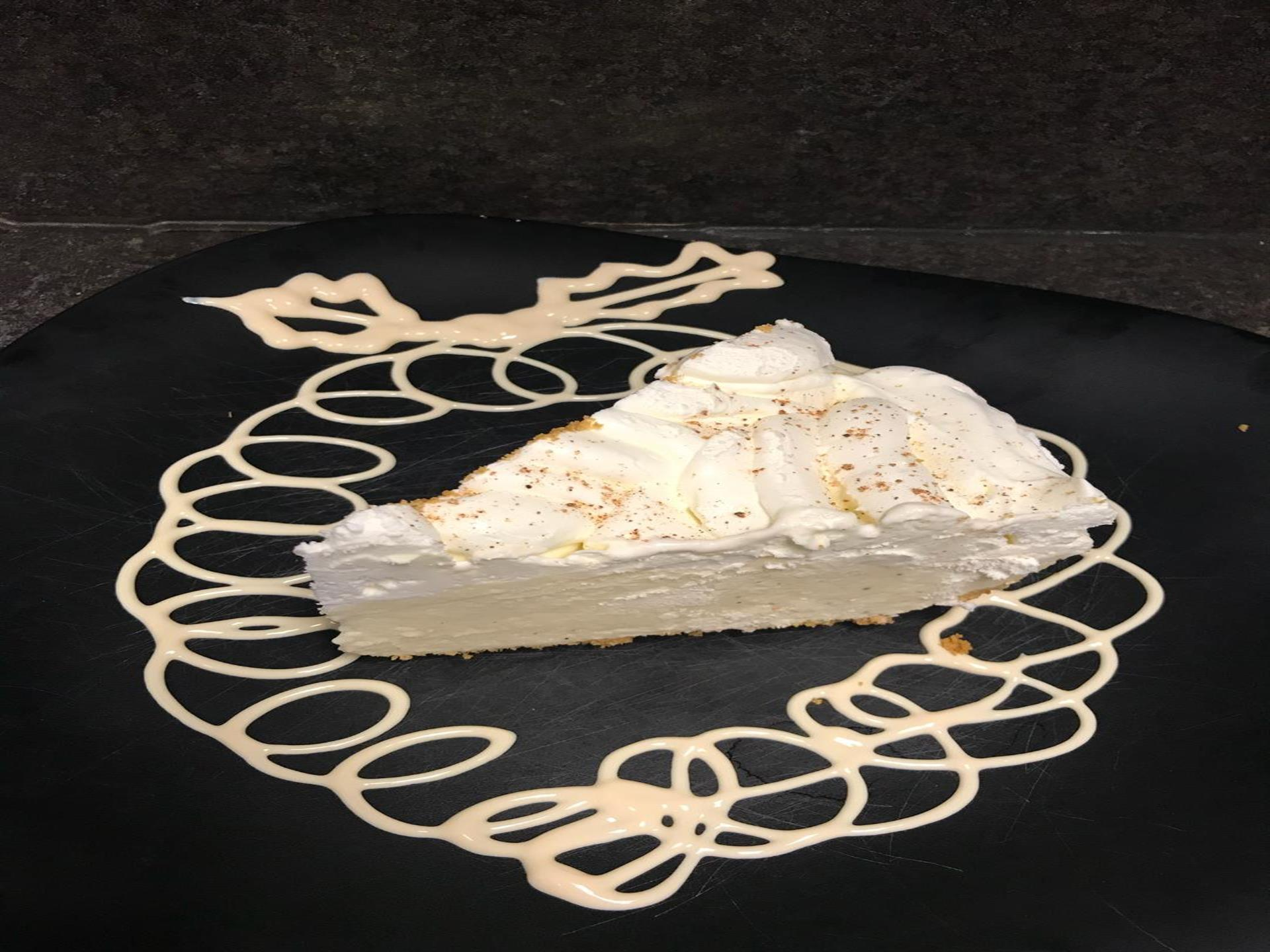 Frozen Egg Nog Pie