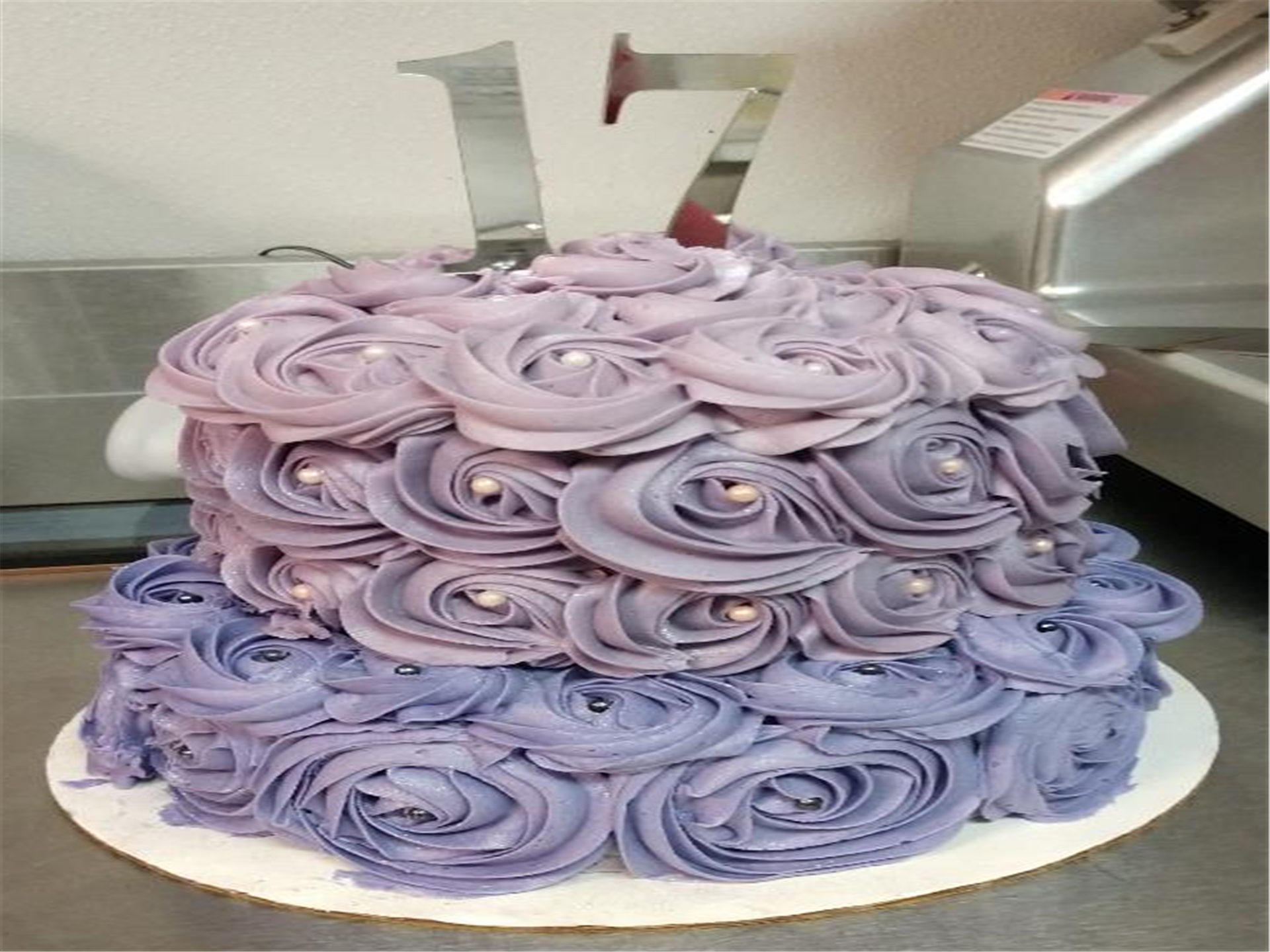 Tiered Ombre Cake