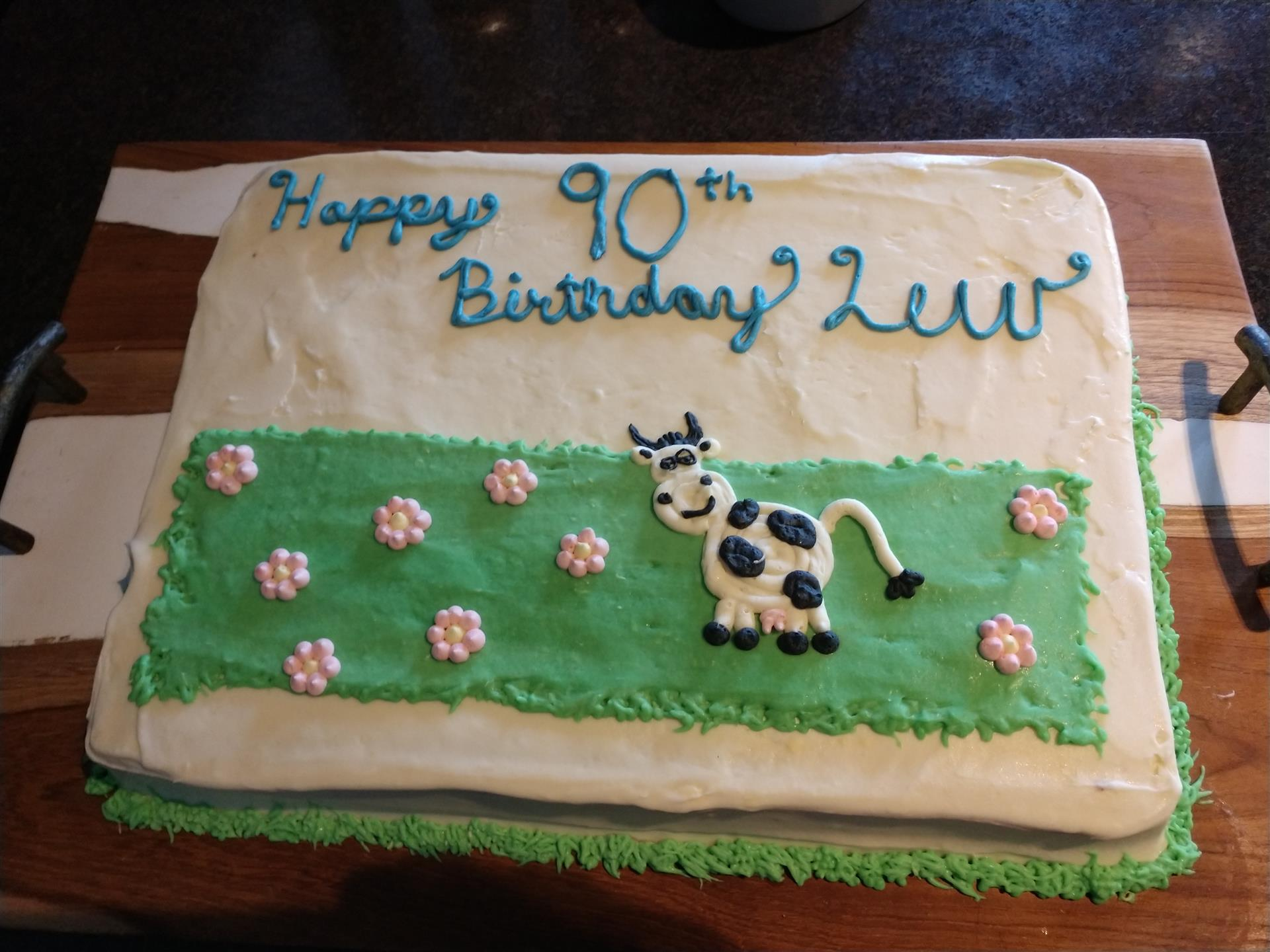 Out to Pasture Cake