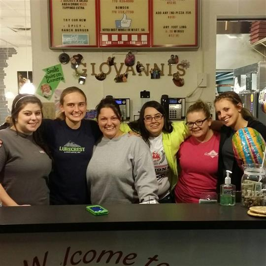 employees smiling for a picture