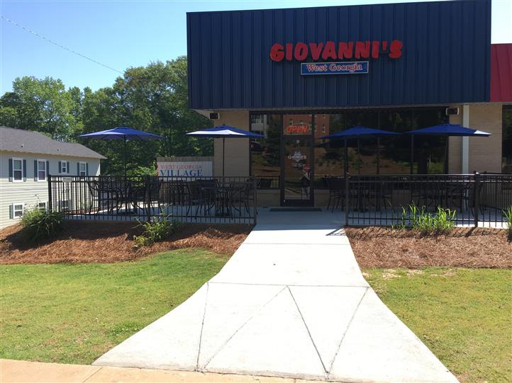 front view of giovanni's