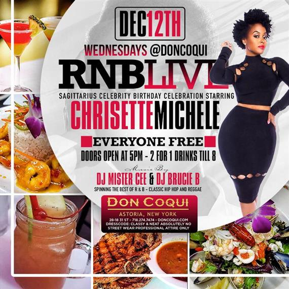 RNB Live event flyer