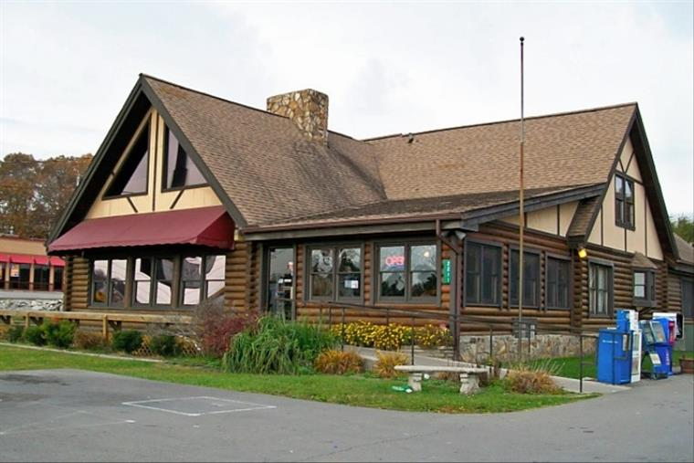 front view of restaurant