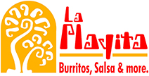la playita burritos, salsa and more.
