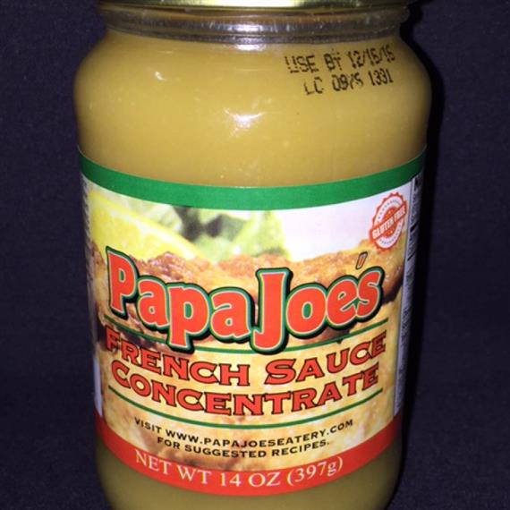 Papa Joes French Sauce concentrate 14 ounce jar