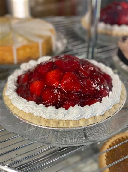 Our famously famous Fresh Strawberry Pie