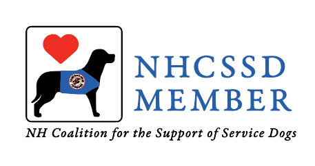 NHCSSD Member. NH Coalition for the Support of Service Dogs Logo