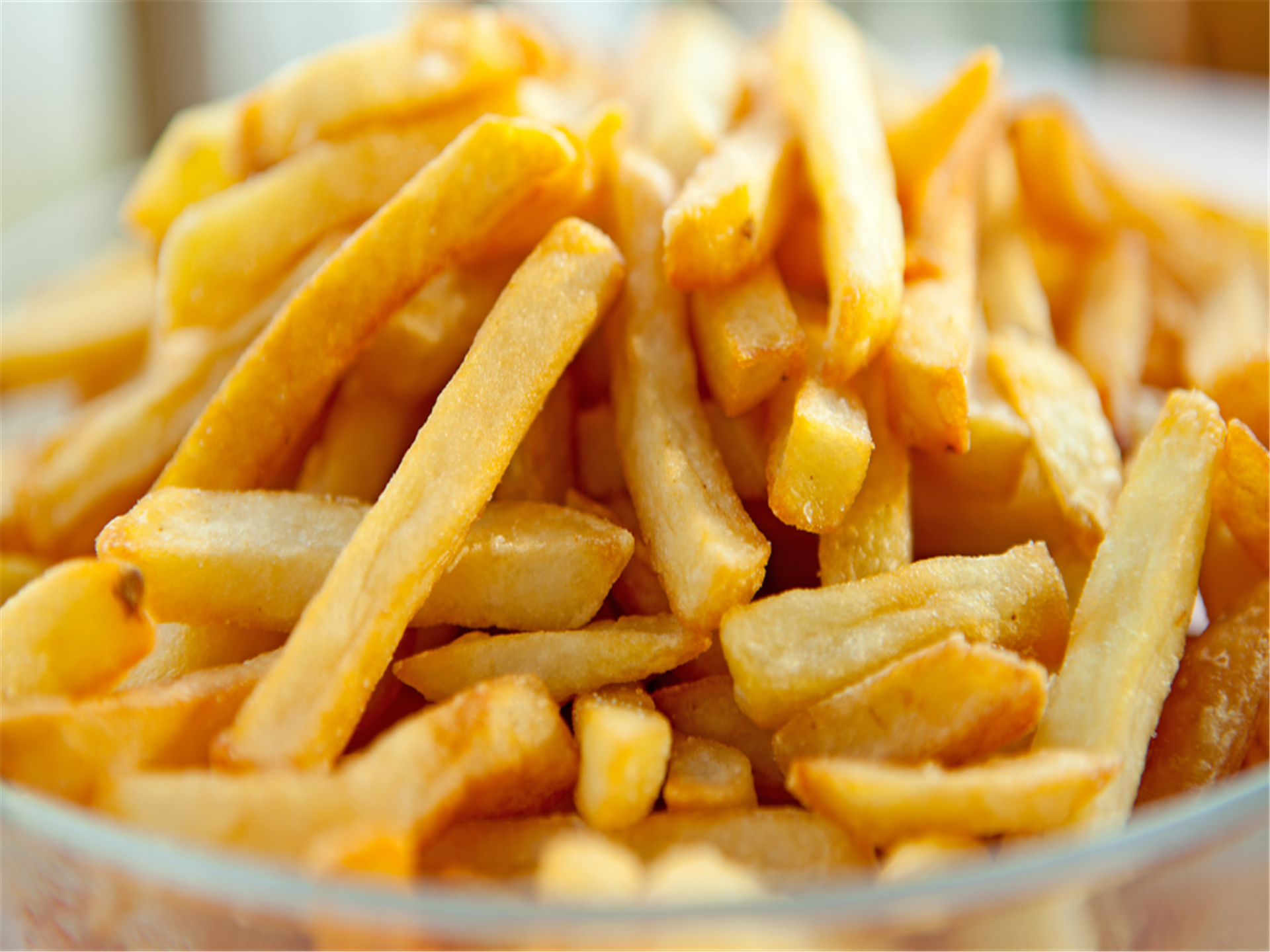 Pile of fries in bowl