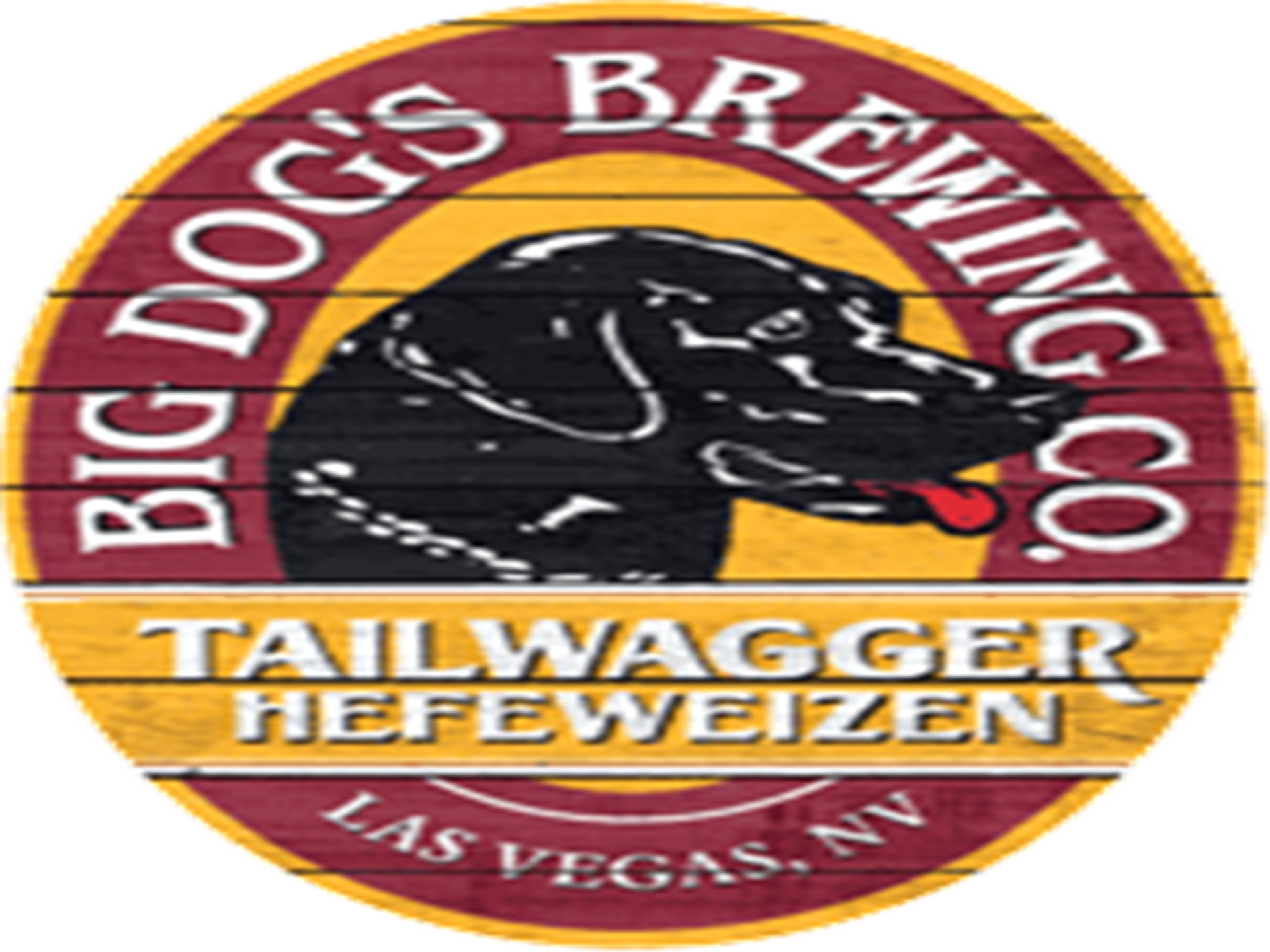 Big Dog's Brewing Company. Tailwagger Hefeweizen. Las Vegas, NV