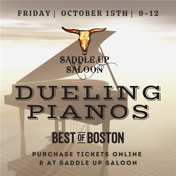 Dueling Pianos at Saddle Up Saloon