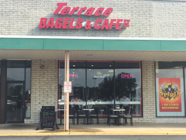 Storefront of Terrace Bagels & Cafe II