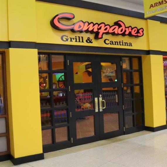 front entrance of compadres