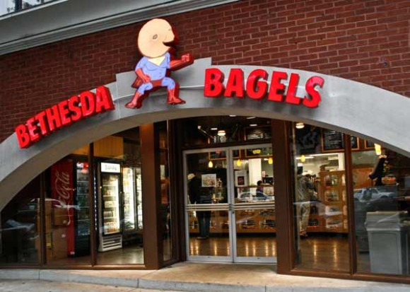 outside view of bethesda bagels location dupont circle