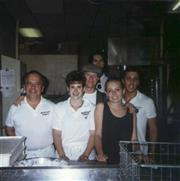 Fran with some of the first Bethesda Row employees
