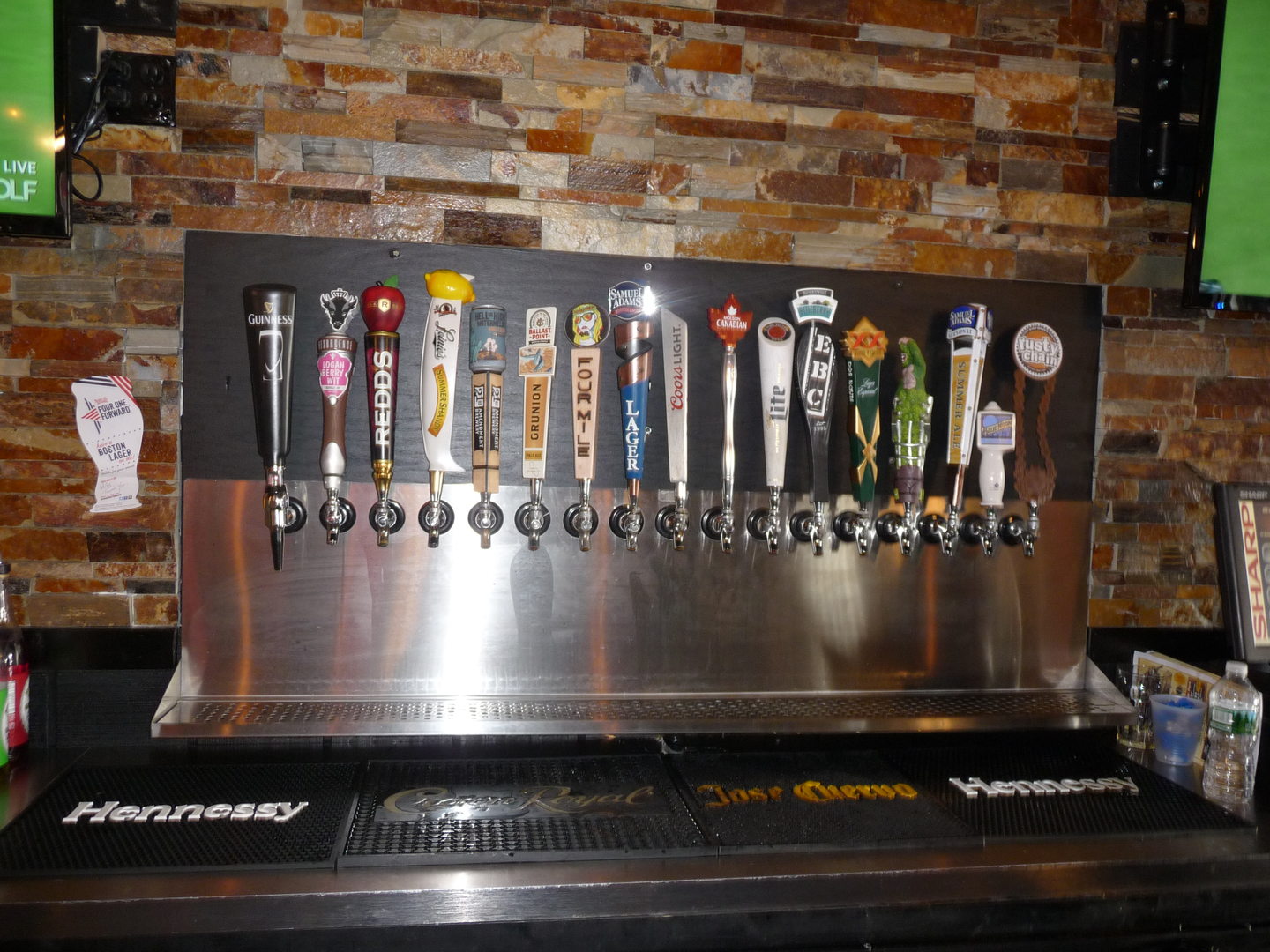 Mooney's Kenmore Beer Taps