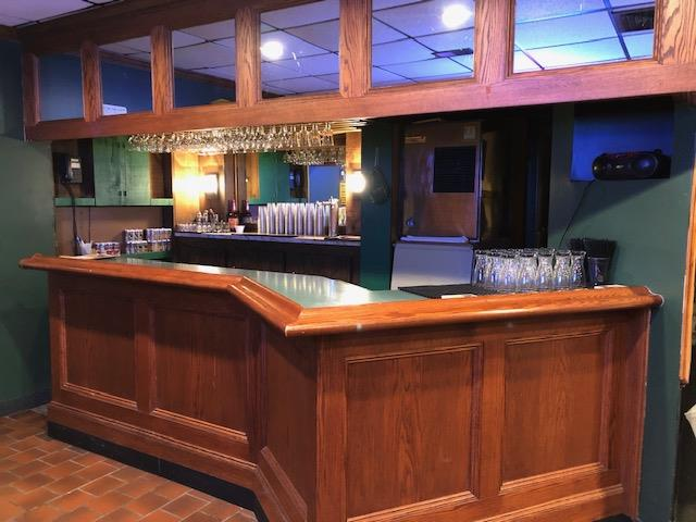 Banquet Room with bar area